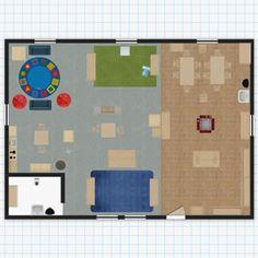 Kaplan classroom floor plan design tool iste2016 for Preschool classroom layout maker