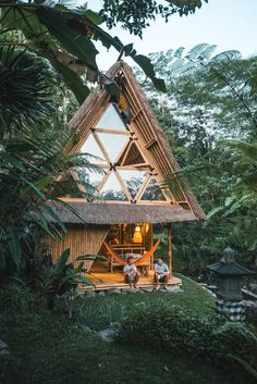 Entire home/apt in Selat, ID. Hideout is a unique eco stay for adventurous travelers, hidden in mountains of Gunung Agung volcano. All-bamboo house is situated at beautiful riverside among rice fields. Get off the grid and experience authentic life of Balinese village. Take a...
