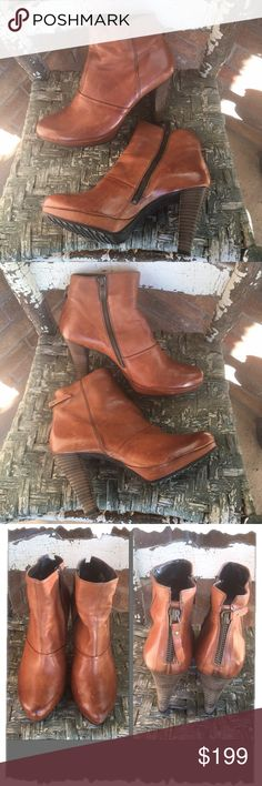 Spotted while shopping on Poshmark: Paul Green Munchen Tan Distressed Leather Boots! #poshmark #fashion #shopping #style #Paul Green #Shoes