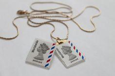 Madam B.C. - stamp necklace