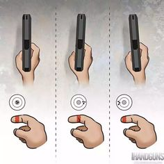 Survival Life Hacks, Survival Tips, Survival Skills, Weapons Guns, Guns And Ammo, Trigger Finger, Shooting Range, Shooting Guns, Pistol Shooting Tips