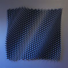Click for more pics! New Mesmerizing Geometric Paper Sculptures from Matthew Shlian #paperart