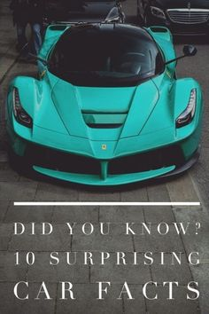 Did You Know? 10 Shocking Car Facts. Click the image to be blown away! #autoawesome