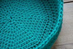 Corbeille en crochet - Kesi'Art - le Blog Blanket, Rugs, Blog, Diy, Decor, Amigurumi, Crochet Basket Pattern, Crochet Ideas, Easy Crochet Projects