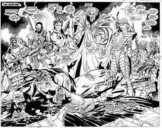 Uncanny X-Men Comic Art For Sale By Artist Jim Lee at Romitaman.com