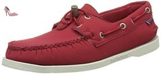 Sebago Docksides, Chaussures Bateau Homme, Rouge (Red Ariaprene), 41 EU - Chaussures sebago (*Partner-Link)