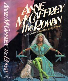 ROMAS KUKALIS - The Rowan by Anne McCaffrey - 1990 Ace/Putnam hardcover