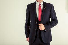 Original Three Piece Suit in Black.