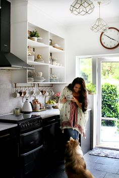 How to Make the Most of Your Small Kitchen -  Check out this post for tips and tricks to visually expand a smaller space and make the most of the kitchen you have!