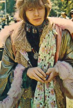 Brian Jones~Bohemian style late 1960's