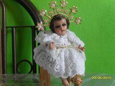 Mis puntadas preferidas: cómo hacer Vestidos tejidos para Niño Dios