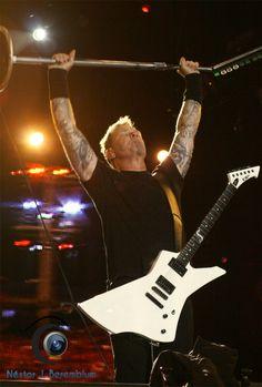 James Hetfield & Metallica (Rock´n Rio, Rio de Janeiro, 2011)