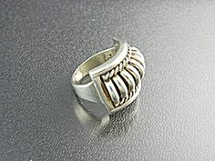 Ring Native American Sterling Silver THOMAS CHARLIE