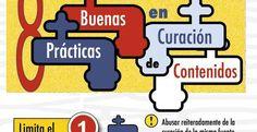Buenas prácticas en curación de contenidos (infografía) #mediossociales #marketingdecontenido