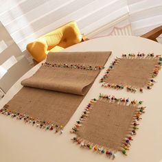 Diy Pillows Ideas For Kids Diy Pillows, Decorative Pillows, Diy Party Board, Diy And Crafts, Crafts For Kids, Crochet Decoration, Ramadan Decorations, Burlap Lace, Hessian