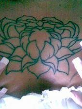 The start of the lotus