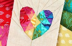 Looking for your next project? You're going to love Love Story Paper Piecing…