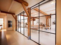 Stalen deuren keuken/werkkamer - Exclusive Steel produced by Rasenberg
