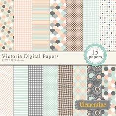 Hey, I found this really awesome Etsy listing at https://www.etsy.com/listing/161402879/light-pinks-blues-and-grey-scrapbook