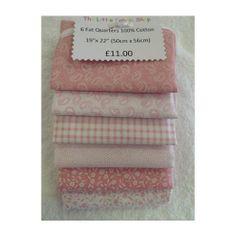 Fat Quarter Bundles :: Classic Pink -
