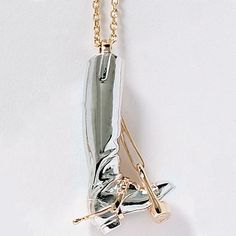 Ashley's Sterling Boot Pendant