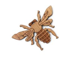 Honey Bee Ornament - Timber Green Woods Butterfly & Insect Collection