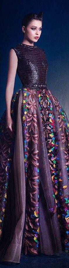 Nicolas Jebran couture FW 2015/16