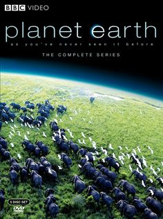 Planet Earth BBC Video DVD -- Watching these from beginning to end is what really caused me to get serious about conservation.