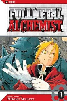 Fullmetal Alchemist: the manga art is awesome, and the anime is good too!