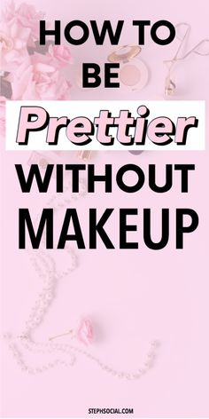 We all want to know how to be pretty! And it sounds cliche, but real beauty does come from within. Here are some beauty hacks that'll make you feel prettier! How To Feel Pretty, How To Become Pretty, Good Beauty Routine, Best Skin Care Routine, Beauty Hacks Skincare, Beauty Makeup Tips, Beauty Habits, Beauty Hacks Without Makeup, Women's Beauty