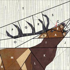 Shape Moth: Roaring Deer {Forest QAL}