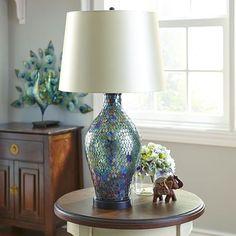 Marquis Mosaic Lamp - Emerald