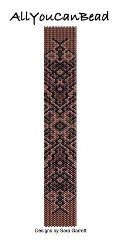 #AllYouCanBead #peyote #stitch #bracelet #pattern #tutorial #bead #beading #weaving #beadweaving #handmade #miyuki #delica #seed #brick #loom by maryann