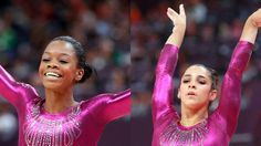 Douglas Shatters Glass Ceiling With Historic Win.  First African American All Around Champion.