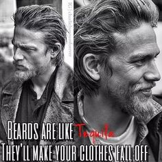 Sons of Anarchy Riders Serie Sons Of Anarchy, Sons Anarchy, Caleb, Charlie Hunnam Soa, Jax Teller, Raining Men, Man Alive, Bearded Men, Gorgeous Men