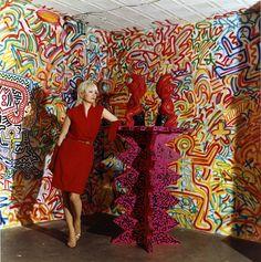 patti astor...keith haring...fun gallery...1983