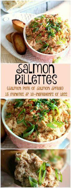 Salmon Rillettes is