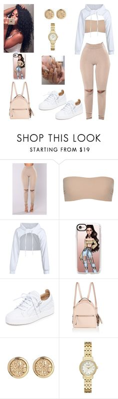 """Untitled #754"" by honeycombs23 ❤ liked on Polyvore featuring Commando, Casetify, Giuseppe Zanotti, Fendi and Kate Spade"