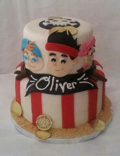 Jake and the Neverland Pirates Cake... I just like this cuz of the name.