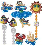 #367 Summer Fun - Set the stage for theme parties of Under the Sea, Summer Fun or Beachside Delight with LINK-O-LOON® and shape foils.