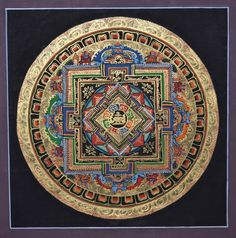 Kalachakra Mandala thangka, tibet thangka and nepal thanka, super high quality