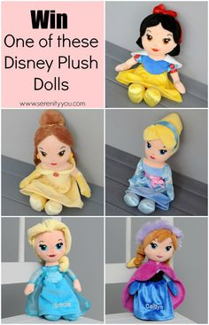 Win one of these Disney Princess Dolls. UK only. ends 19th October