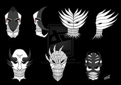Vizard Masks Set 2 by Dark-Shenlong.deviantart.com on @deviantART