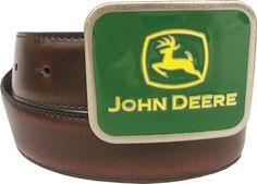 John Deere Boy's belt and buckle John Deere Kids, Kids Hats, Carhartt, Mittens, Under Armour, Belt, Leather, Accessories, Fingerless Mitts