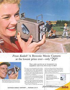 Vintage Camera Ad    http://abduzeedo.com/50-vintage-camera-ads-part-2