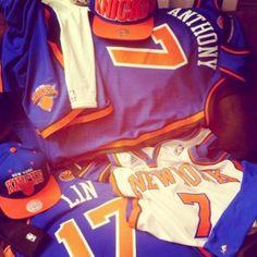Knicks jerseys = major swag #NBA