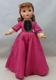"Vintage Madame Alexander 13"" Little Women Jo Doll                              …"