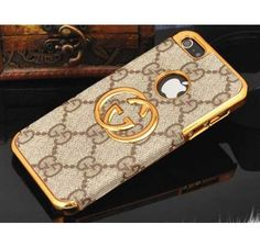 New Arrival Real Gucci iPhone 6 Cases - iPhone 6 Plus Cases - Brown - Free Shipping - Chanel & Louis Vuitton Authorized Store