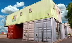 Esper Many shipping containers are being put into new service as homes ...