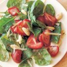 Try the Baby Spinach Salad with Roasted Strawberries Recipe on williams-sonoma.com